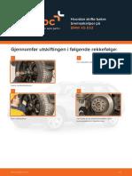 Hvordan skifte bakre bremsekaliper på BMW X5 E53