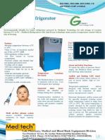 Ice Lined Refrigerator Anti Freezer