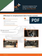 Comment remplacer l'huile moteur et un filtre à huile sur une  Nissan Micra K11