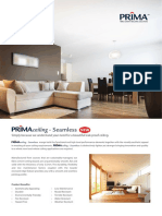 1. PRIMAceiling Seamless - Catalogue