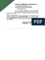 ICMR-JRF Advertisment 2016