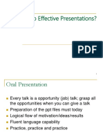 How to Do Academic Presentation