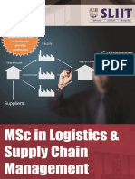 Msc Logistics Supply Chain Mangement