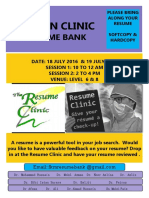 Resume Clinic Poster (1) (1)