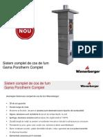 Sistem Complet de Cos de Fum Wienerberger