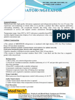 Incubator-Agitator Stainless Steel
