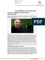 Luca Abete nelle università italiane con il suo tour motivazionale - Il Sussidiario.net, 9 marzo 2018