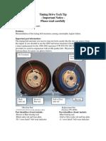 VW 1.9L TDI Installation Notice