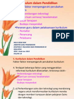 10. Faktor Mempengaruhi Kurikulum