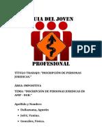 Inscripcion Pesonas Juridicas TP