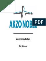 Akzonobel Analysts and Investors Day Coatings Industrial Activities
