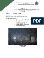 Excavacion de Tunel en Roca Dura y Suave ...