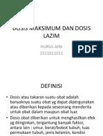 DOSIS MAKSIMUM DAN DOSIS LAZIM.pptx