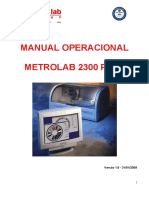 Manual Operacional Metrolab 2300 Plus 31.01.08