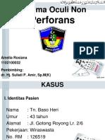 PPT Laporan Kasus Mata (Lapsus / Lapkas / Case report / Referat)