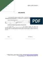 Declaratie CIM Partial