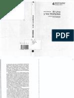 Hornung Erik - El Uno Y Los Multiples.pdf