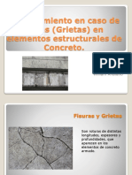 Mantenimiento en caso de Fallas (Grietas).pptx