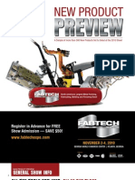 FABTECH 2010 New Product Preview