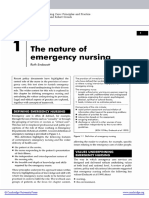 The Natural Emergency Nursing