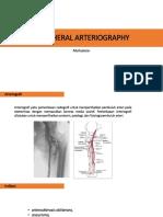 Peripheral Arteriography