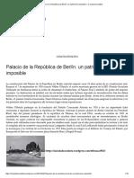 Palacio de La República de Berlín_ Un Patrimonio Imposible – La Ciudad Socialista