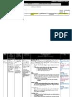 lesson planning document
