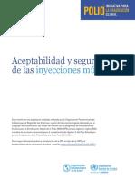 Polio Ipv Aceptabilidad Inyecc Multiples