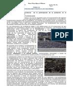 Tema 31 La Participación Política en Colombia Octavo Octubre 2014