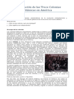 Tema 16 Octavo La Revolución de Las Trece Colonias Británicas en América