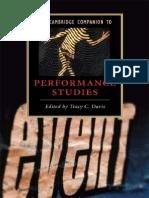 Tracy C. Davis-The Cambridge Companion to Performance Studies-Cambridge University Press (2008)