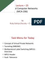 IPU MCA ADVANCE COMPUTER NETWORK UNIT-III(4)