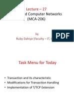 IPU MCA ADVANCE COMPUTER NETWORK UNIT IV(1)