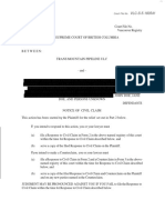 "March 08, 2018 - Kinder Morgan ""Notice Of Civil Claim"""
