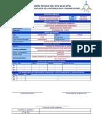 Modelo de INFORMES TÉCNICOS Informática 2018
