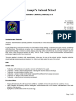 substance use policy feb 2018 st