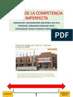 Teoría de La Competencia Imperfecta