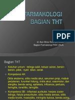 Farmakologi THT