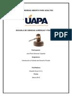 Resumen Exposicion Derecho Privado