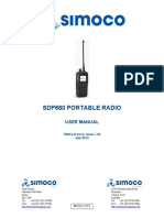 Manual Simoco SDp660