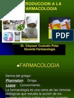 INTRODUCCION FARMACO