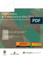 Chile 2010 Cultura Politica