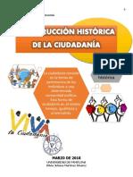 EVOLUCIÓN HISTÓRICA DE LA CIUDADANÍA