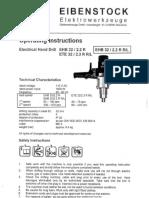 Eibenstock EHB 32-2.2 R R-L