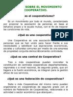 Jornada Sobre El Movimiento Cooperativo