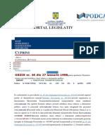 Ordinul 46 de Pe Site Legislatie.just.Ro