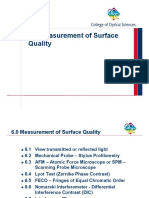 Optical - Measurement of Surface Quality.pptx
