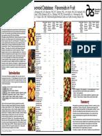 USDA Elderberry Flavonoid Chart