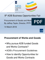 2. Procurement of Goods and Works_Jeff Taylor