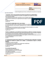 Examen de Auditor Interno